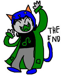 ecstatic nepeta at the end by tentabrobpy