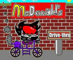 Karkat Vantas goes to McDonald's by tentabrobpy