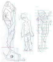 Arranged Weirdos Tall by tentabrobpy