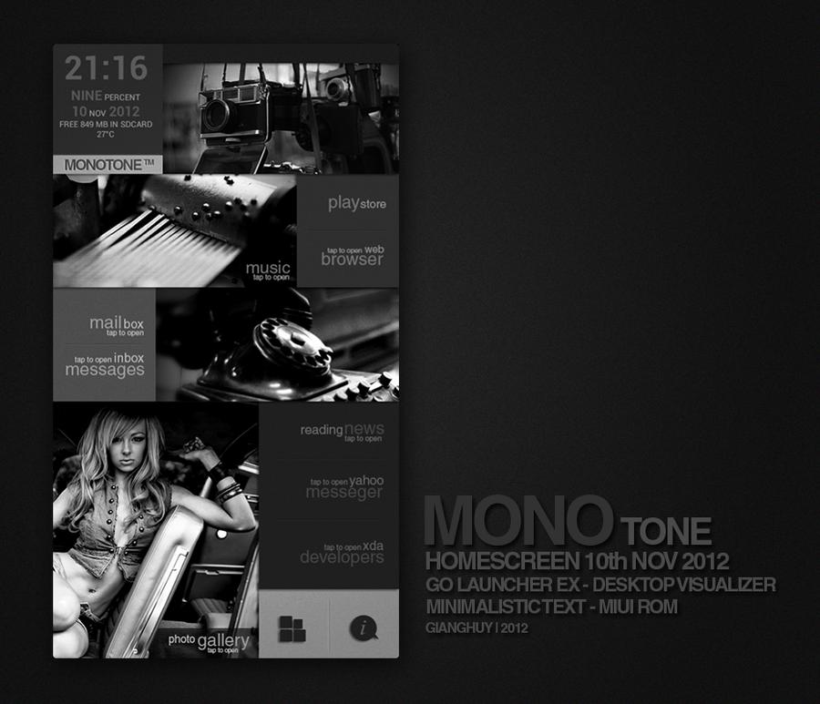 MonoTone by MrKjzoo