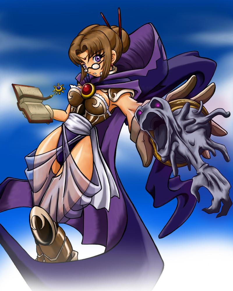 teresa .wise Sorceress by mauroz