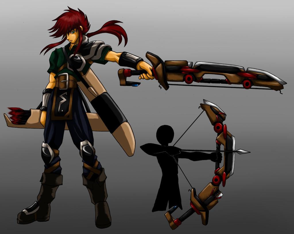 robin warrior-archer by mauroz