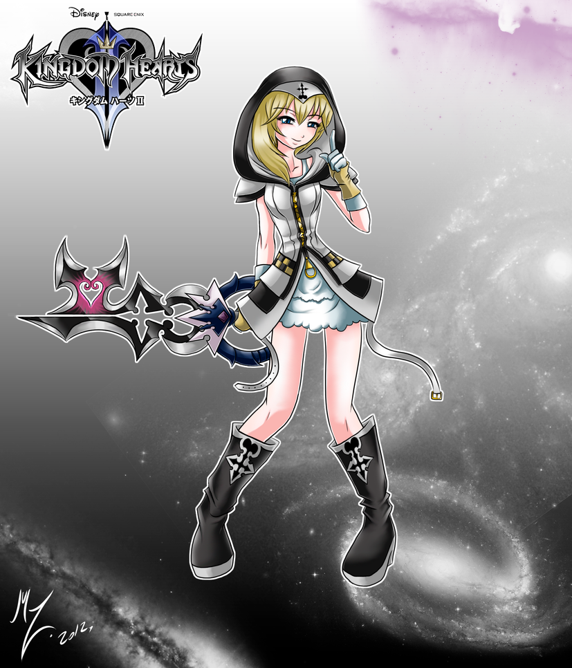 Kingdom Hearts Namine Drawing