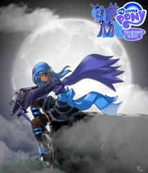 fan Princess Luna by mauroz