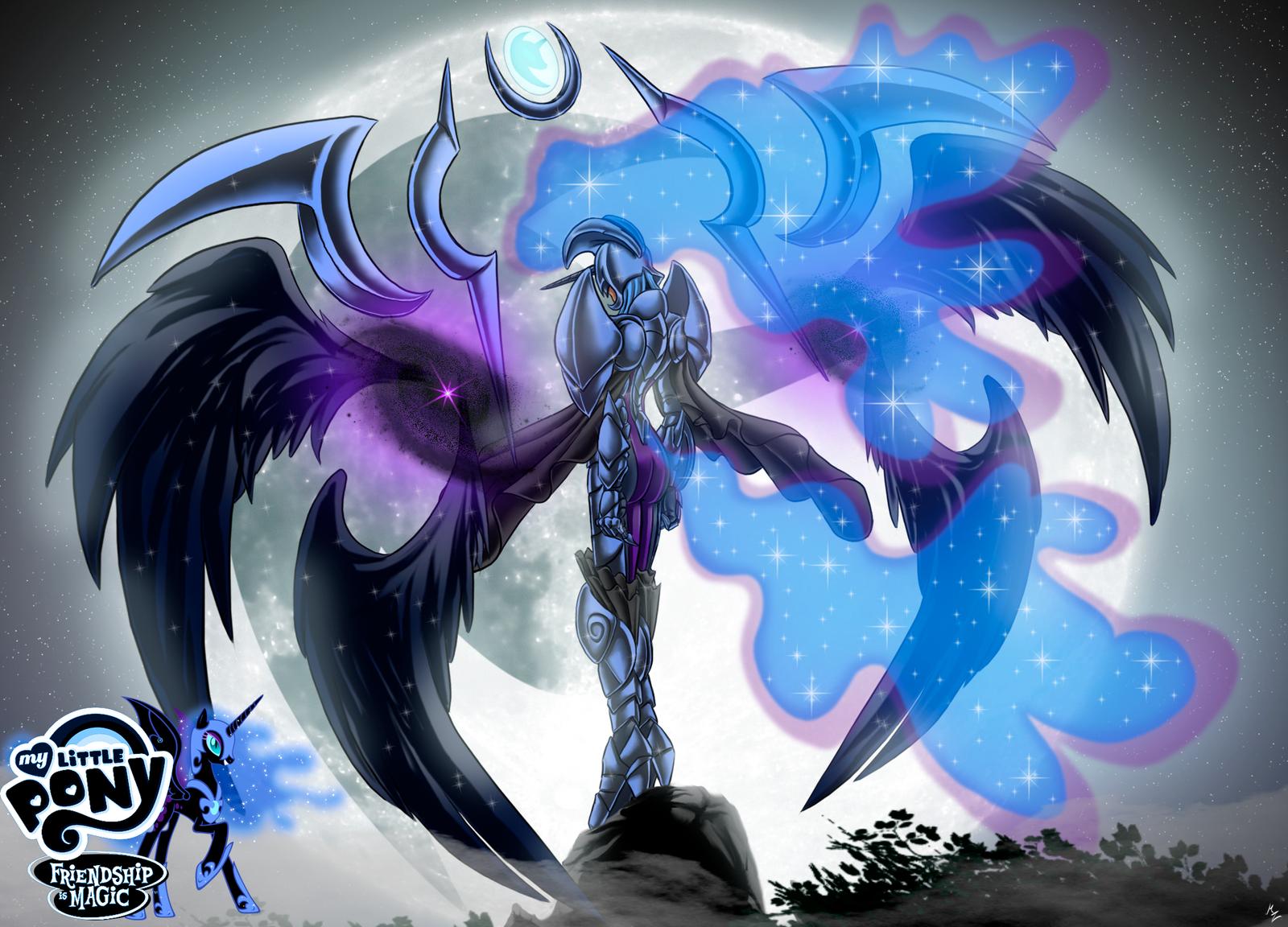 Nightmare Moon, Luna's Vengeance by GatesMcCloud on DeviantArt   Nightmare Moon Moon