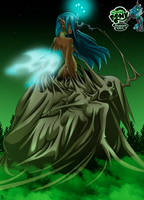 queen Chrysalis second stage by mauroz