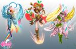 costumes magical girls FM comics R A F(not final)