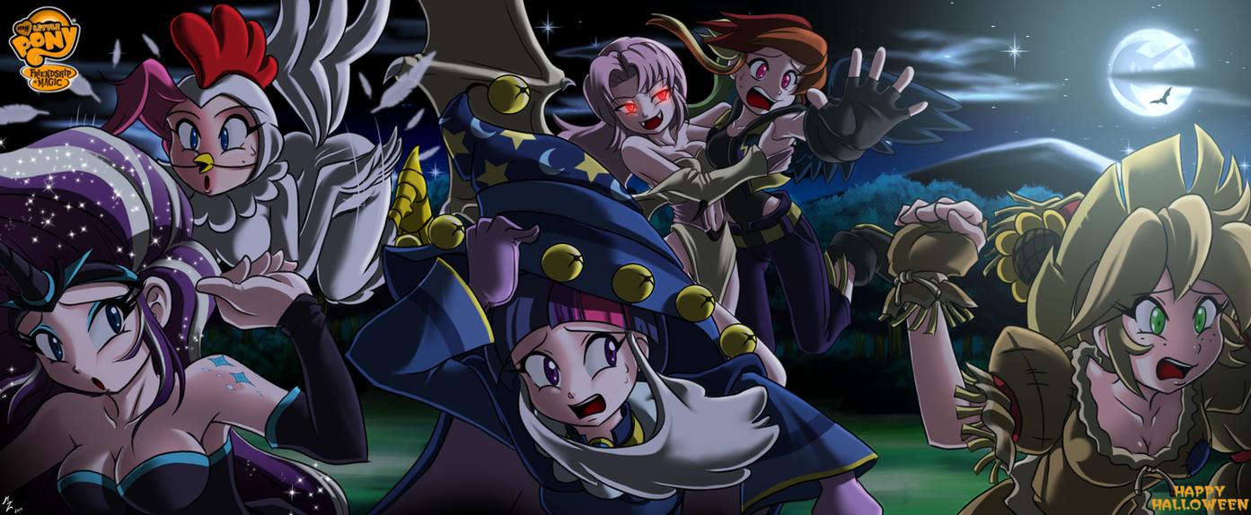 halloween magic by mauroz
