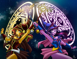 dark magician girl EG: commission by mauroz