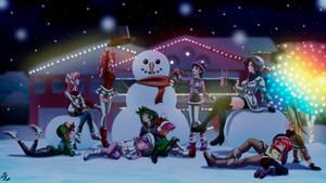 festive winter: Merry Christmas 19