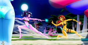 sunset/starlight: It's Time To DDDD Duel!! EQG