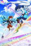Rainbow dash/Soarin: EQG color