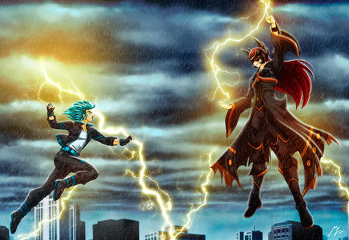 Thunderwing vs Khaoios: commission HaloArt117