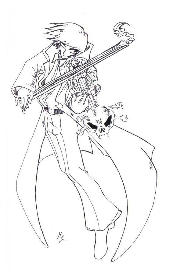 violinista del mal by mauroz