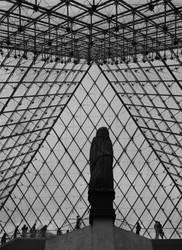 Inside A Glass Pyramid by Gevio