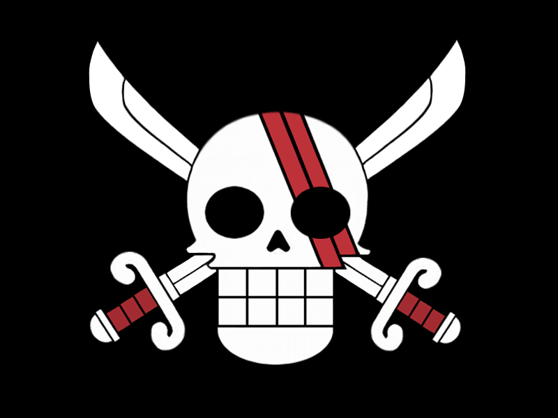 Shanks Flag by Eaglink on DeviantArt Red Hair Pirates Logo