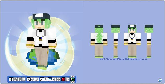 Minecraft Skin N From Pokemon Black White By Hermesbird On - Skin para minecraft pe de pokemon