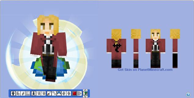 Minecraft Skin - Edward Elric by Hermesbird04