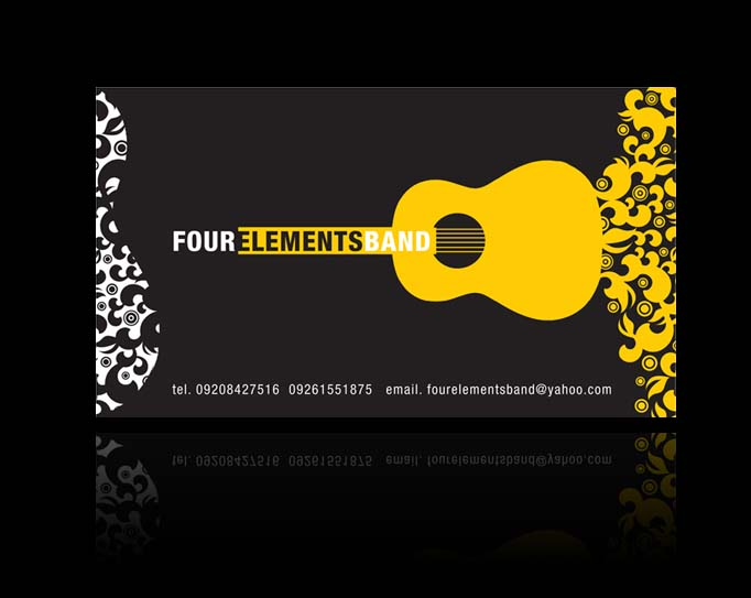 Four Elements Band Business Card 2007 by nollzzju on