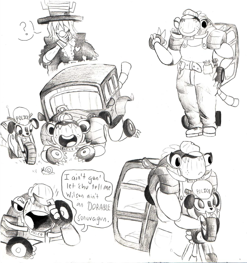 mechanic doodles by GigaPichu