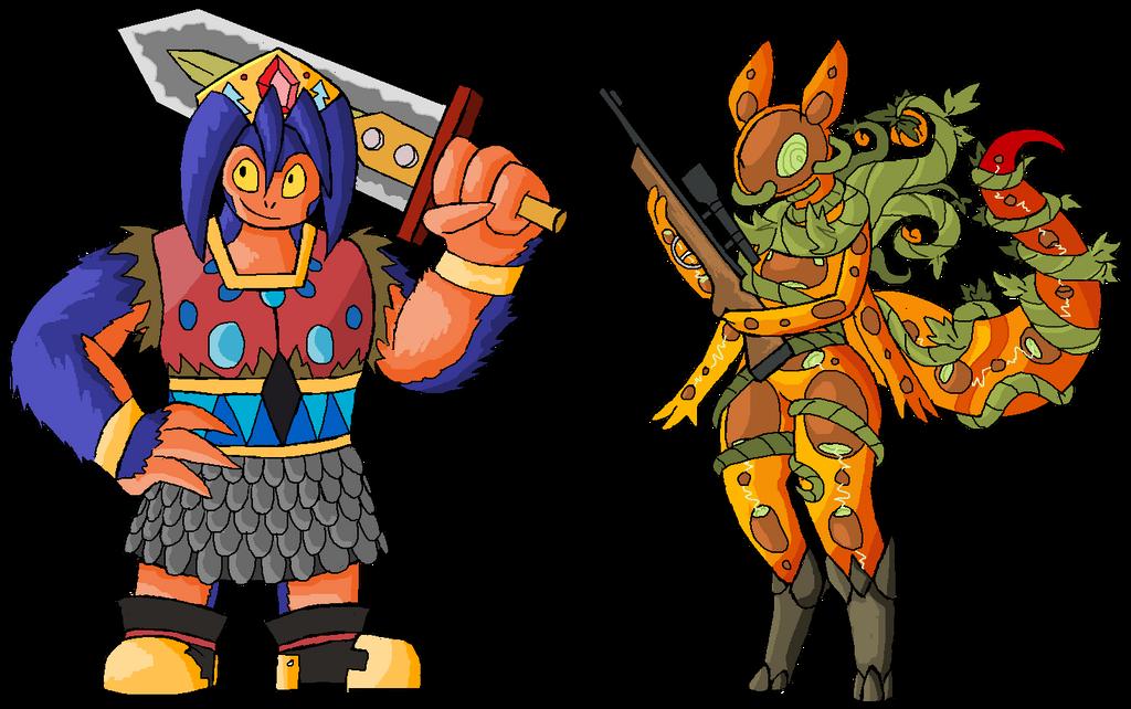 Lavar And Lijra, Head Honchos! by GigaPichu
