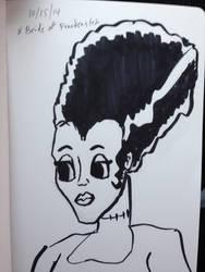 Bride of Frankenstein by asapwastaken