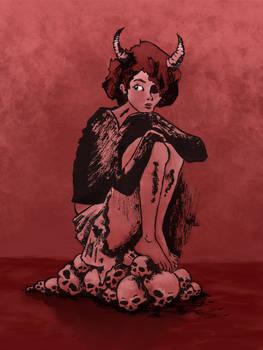 Devil girl Color