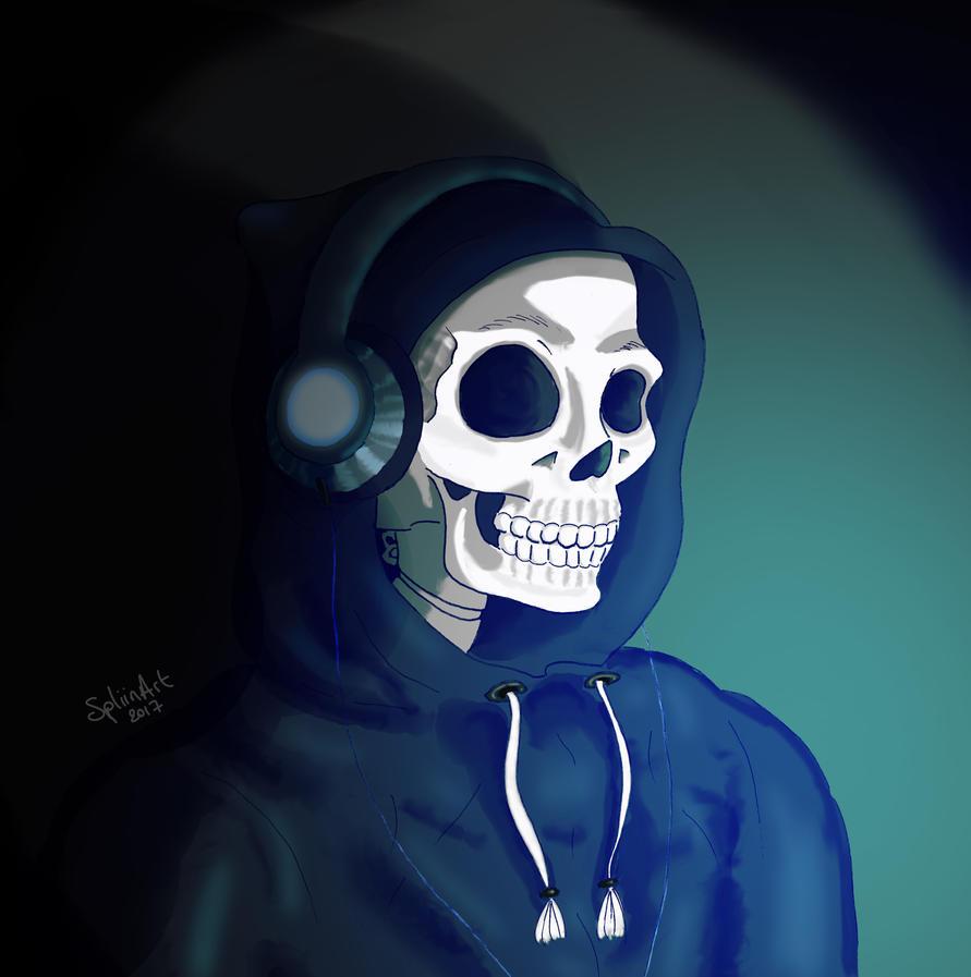 Gaming Skull by SpliinArt