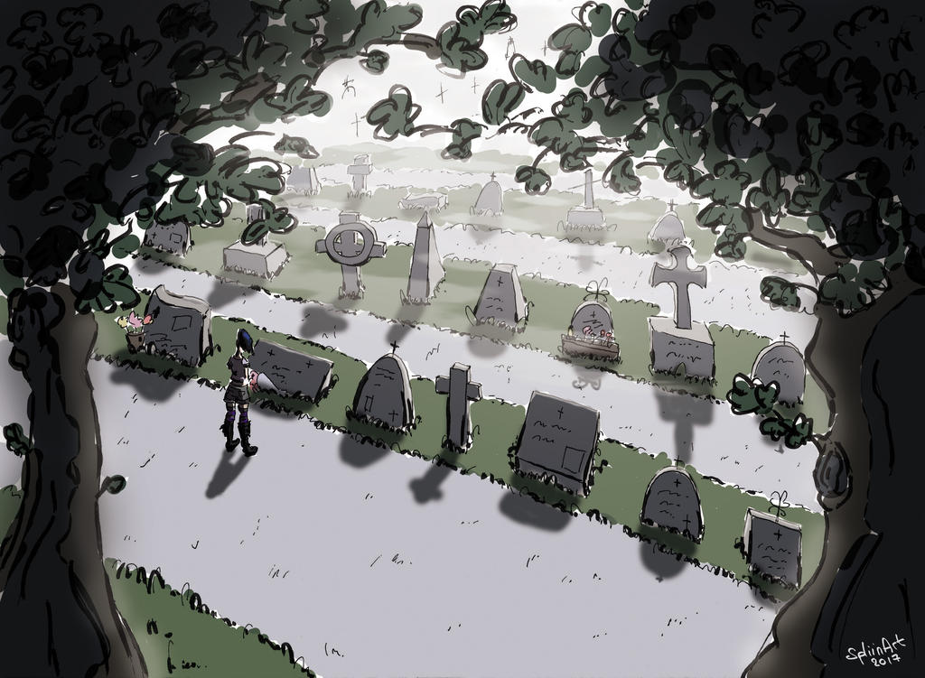 Cimetery by SpliinArt