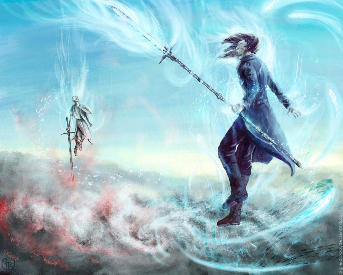 Above the storm by TigRaidoXXX