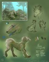 Born from overgrown rocks...
