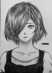 Touka Kirishima by SgkDrawing