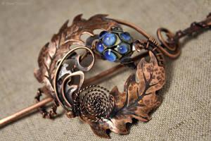 Thistle Brooch