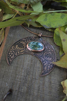 AngelWitch pendant necklace