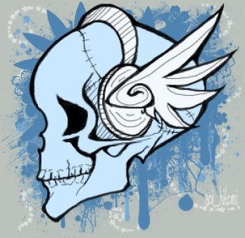 skull id by aoi hitomi by skulls-club