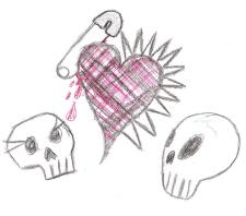 punks in love by m-p-yarr by skulls-club