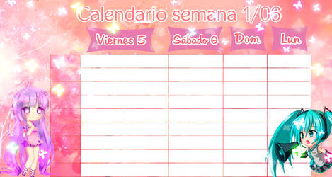 Calendar Cute.