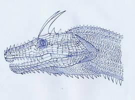 dragon head nr. 1 by dracontes