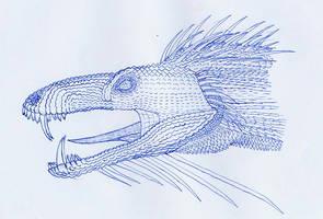 dragon head nr. 3 by dracontes