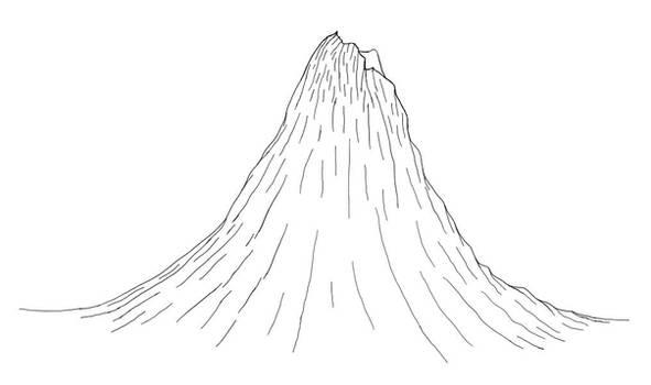 Volcano in Digital Ink