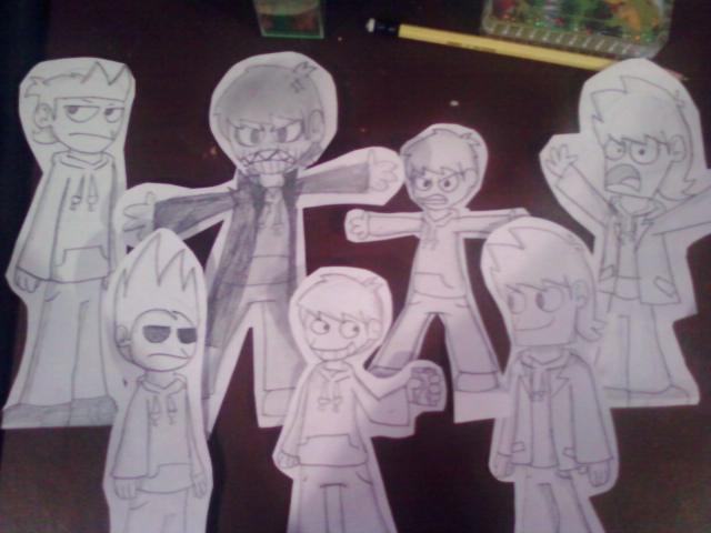 Eddsworld Paper Cutouts By MochaTheDog
