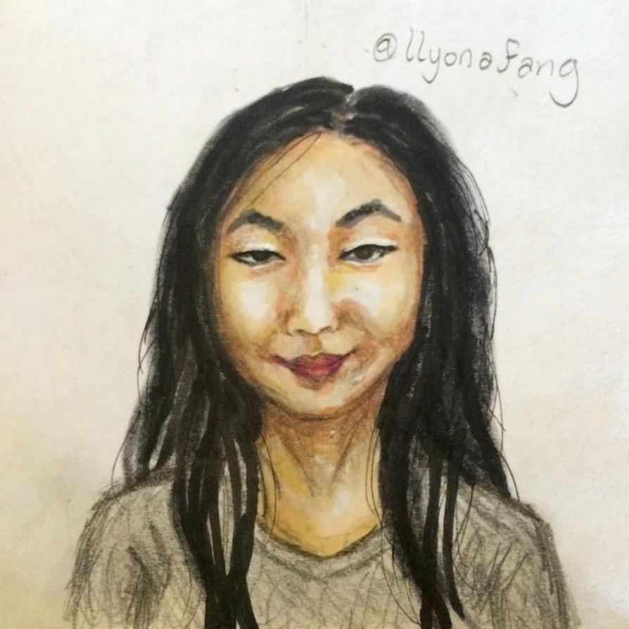 Self Portrait by DragonFang17