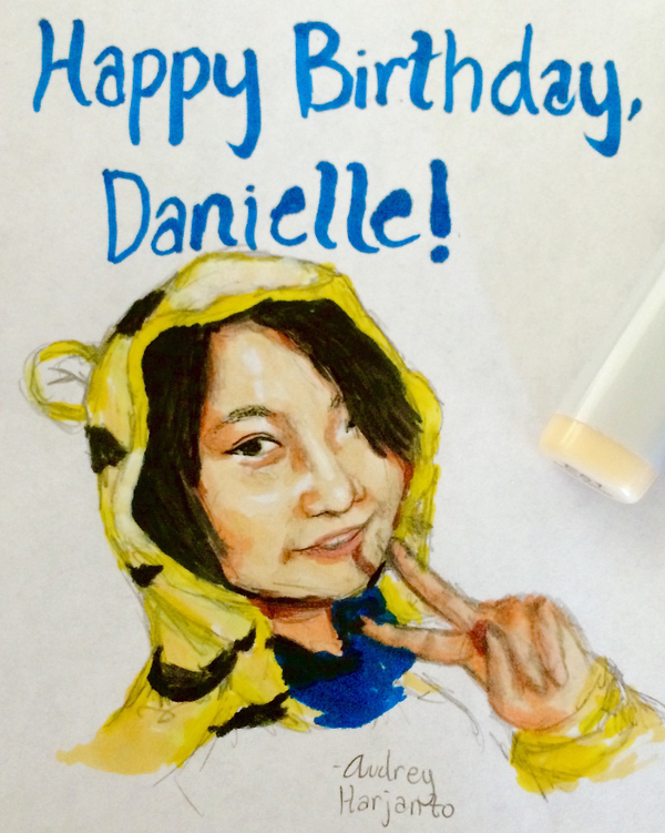 Dani's Birthday by DragonFang17