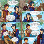 ReversalRain Comic 1 - A Fishy Situation by DragonFang17