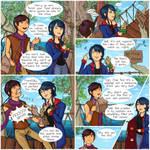 ReversalRain Comic 1 - A Fishy Situation by LlyonaFang