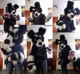 Riley fursuit by KaylaMod