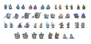 GBA Fire Emblem Sprites Refurbished - OLD AND UGLY