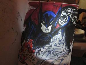 Bob Kane Batman by Scott Roberts