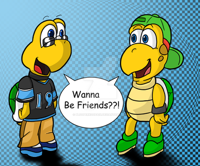 Two Tiny Turtles by BlooperKoopa19