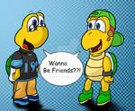 Two Tiny Turtles